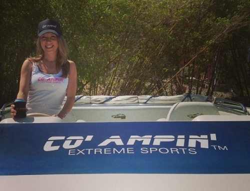 Co' Ampin' Wakeboard Boat