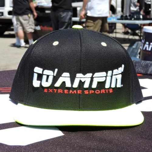 Co' Ampin' Green Cap