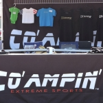 Co' Ampin' Off-Road Product Stand